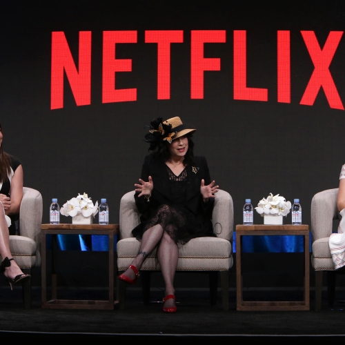 Gilmore Girls at Netflix 2016 Summer TCA at the Beverly Hilton Hotel on Wednesday, July 27, 2016, in Beverly Hills, CA. (Photo by Eric Charbonneau/Netflix)