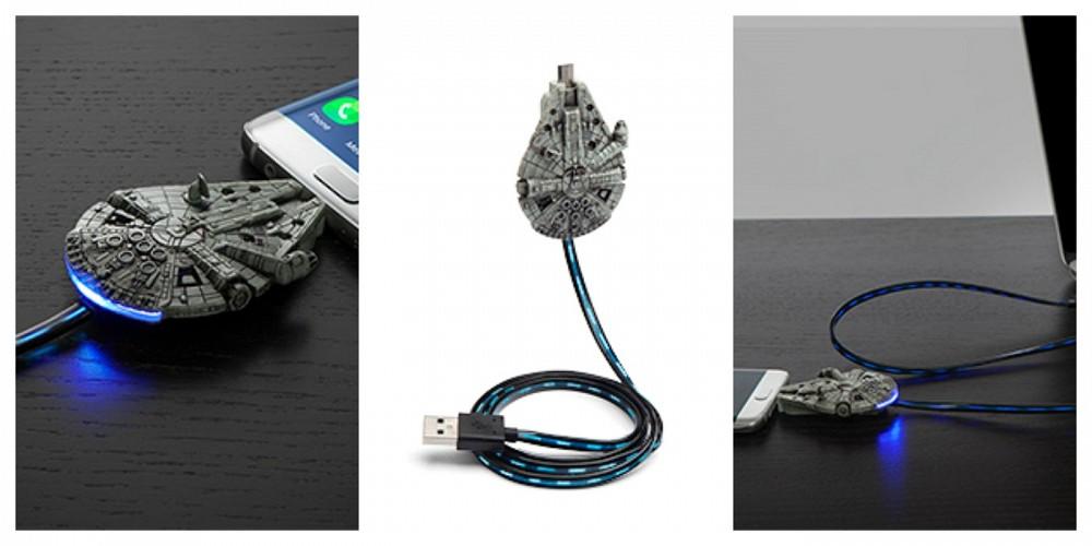Star Wars, il Millennium Falcon diventa un cavo USB