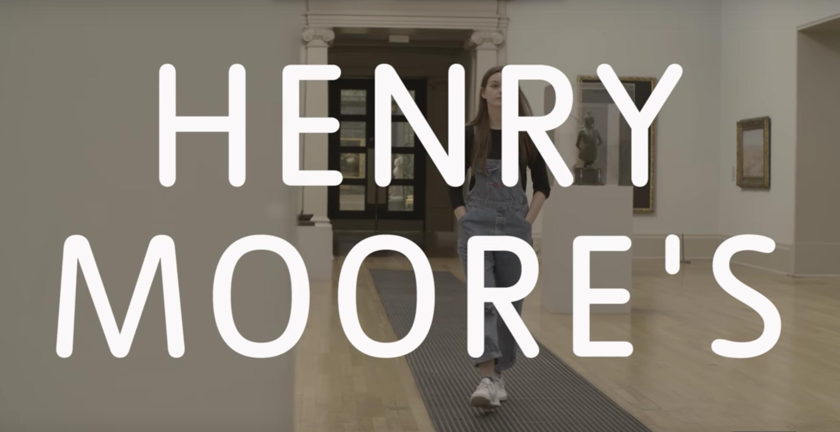 Una poesia per la maschera di Henry Moore