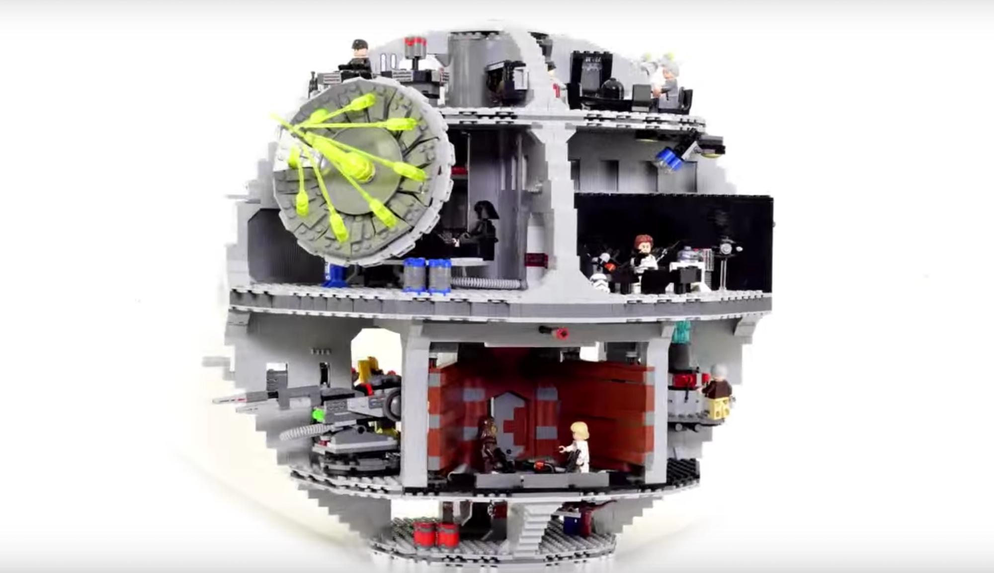 Costruire una Morte Nera di Lego in Stop Motion