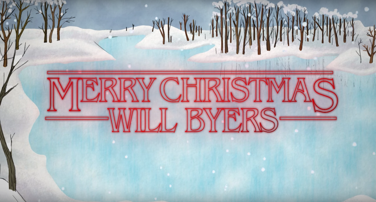 A Stranger Things Christmas