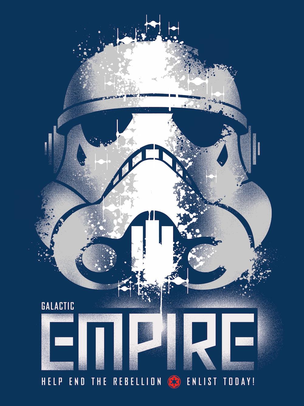 Star Wars e Propaganda, le locandine dell'Impero Galattico