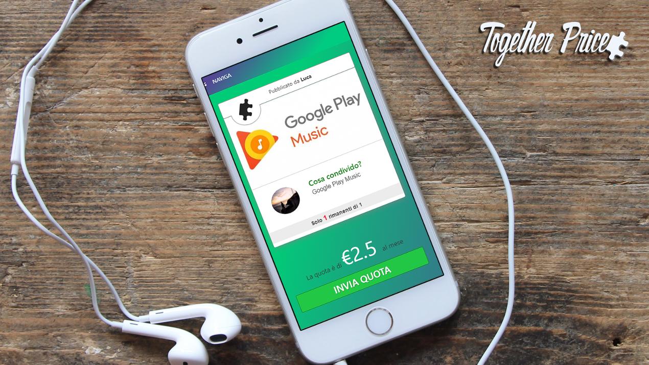 Together Price, il sito per condividere abbonamenti