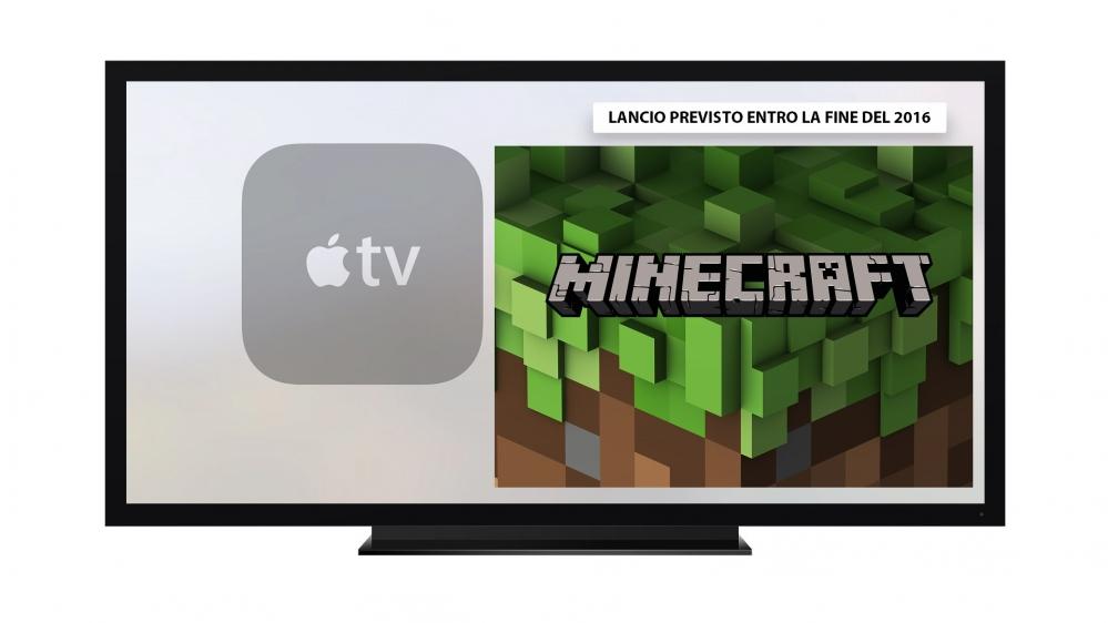 apple tv minecraft