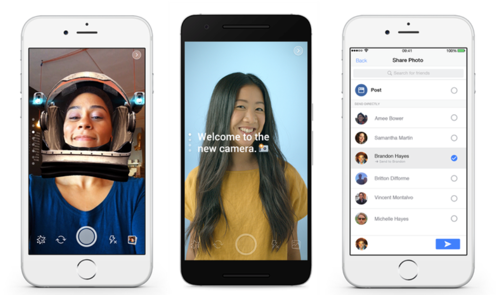 Facebook's New Camera, il nuovo clone di Snapchat