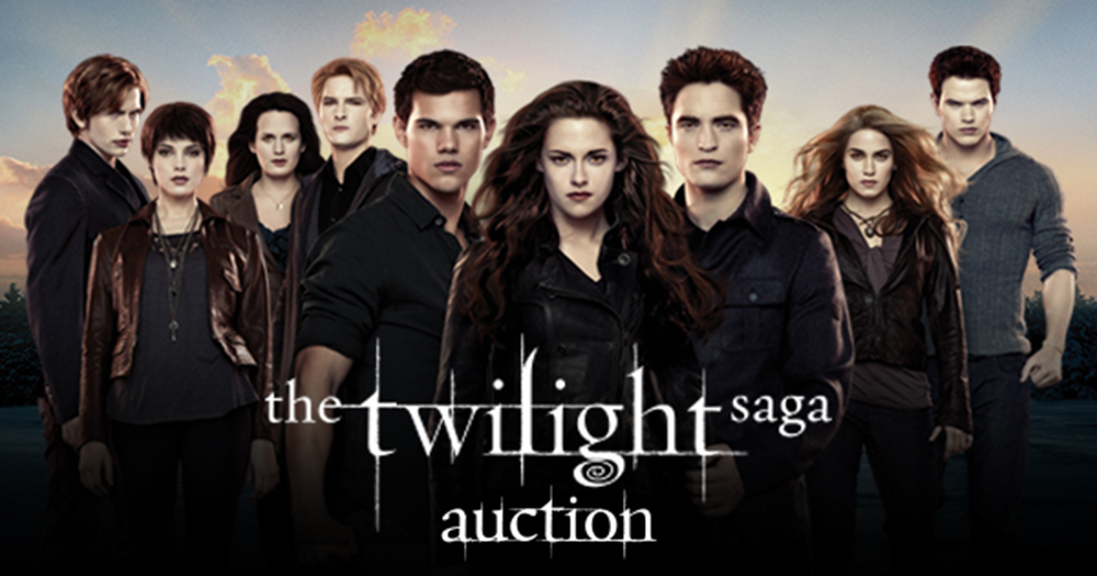Twilight Saga Auction, props e costumi messi all'asta