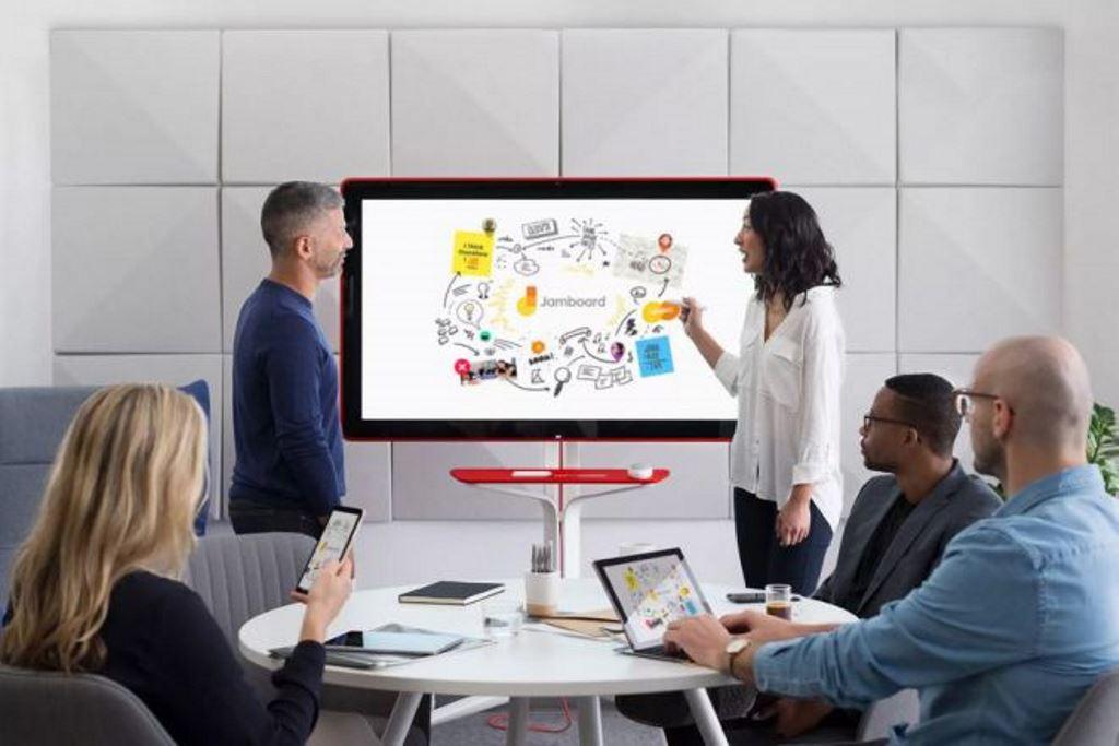 Google Jamboard, il mega tablet per il lavoro