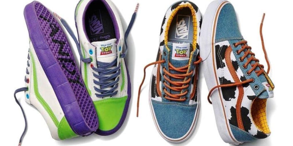 Disney e Vans: le scarpe dedicate a Toy Story