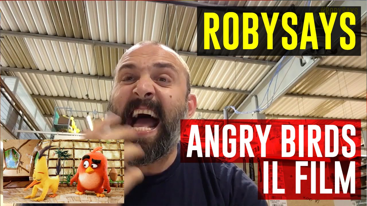 Angry Birds #RobySays
