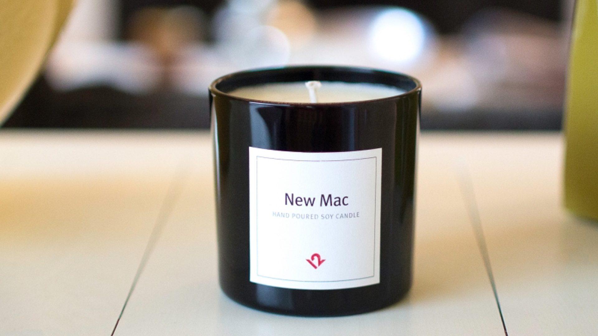 New Mac, la candela che profuma di Mac