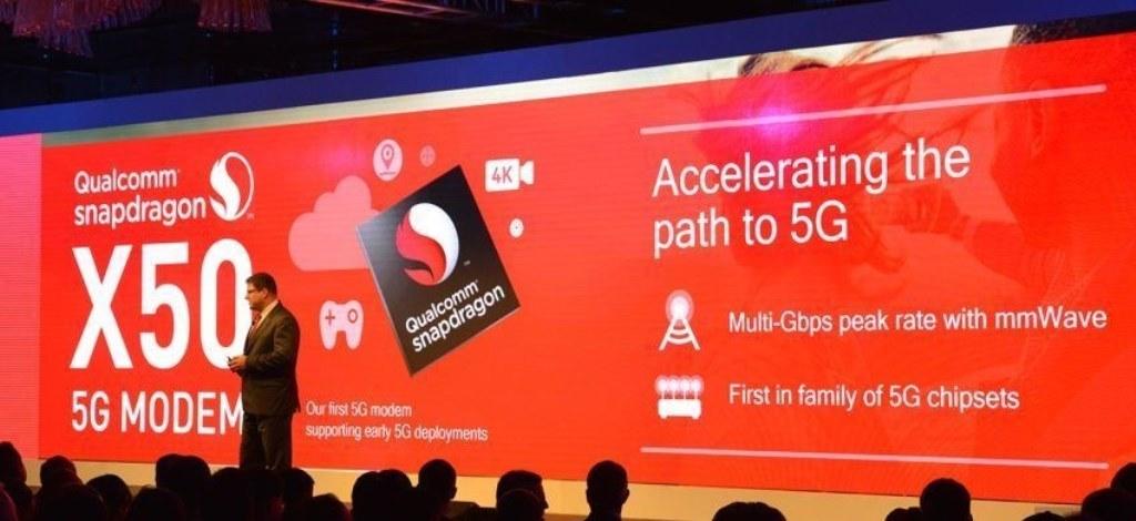 Qualcomm Snapdragon X50, presentato il nuovo modem 5G