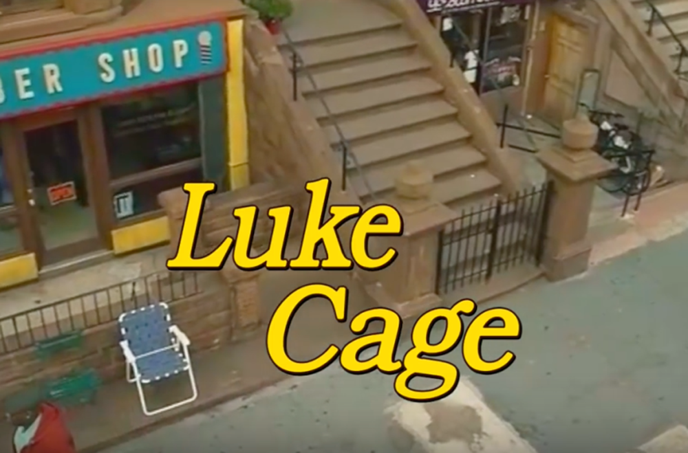 La sigla di Luke Cage come fosse Otto sotto un tetto