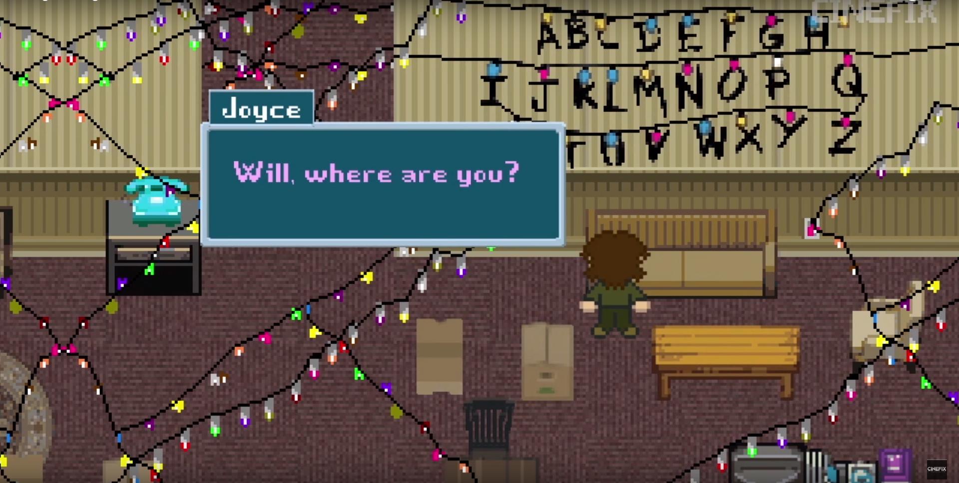 Stranger Things, la storia raccontata con un videogame a 8-bit