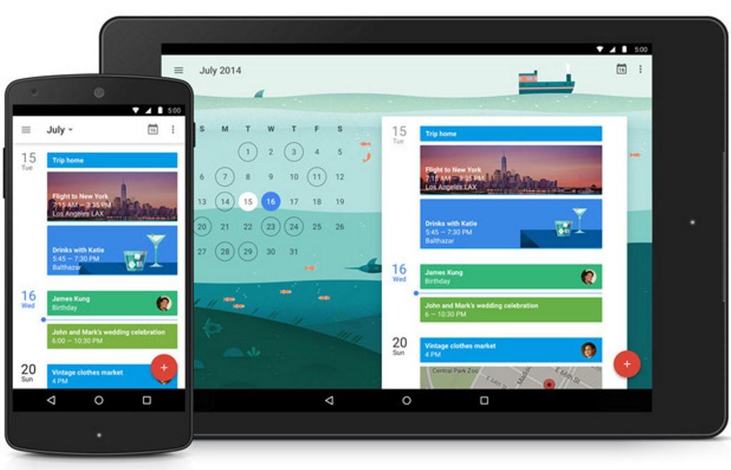 Google Calendar, il widget mensile si rinnova