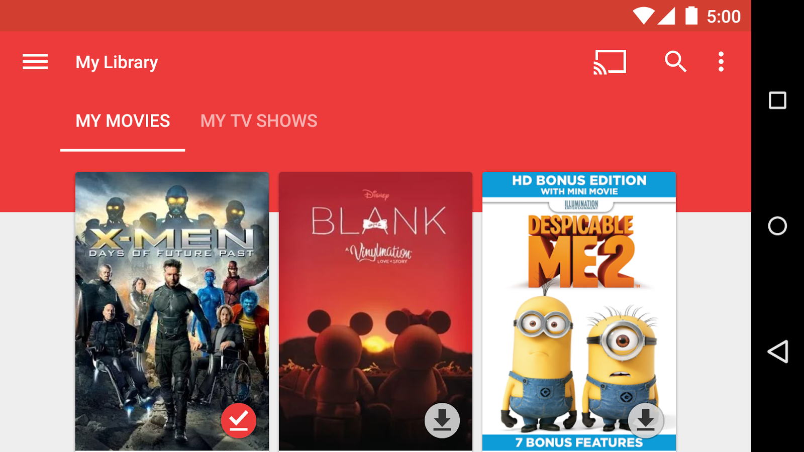 Google Play Film, in arrivo i film in 4K