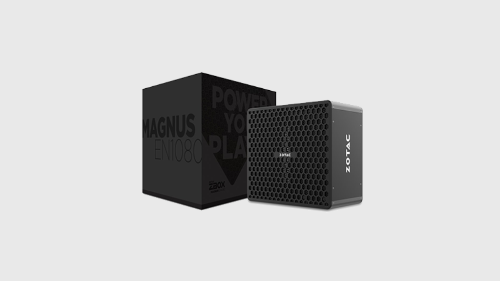 Zotac Magnus EN1080, mini PC con GTX 1080