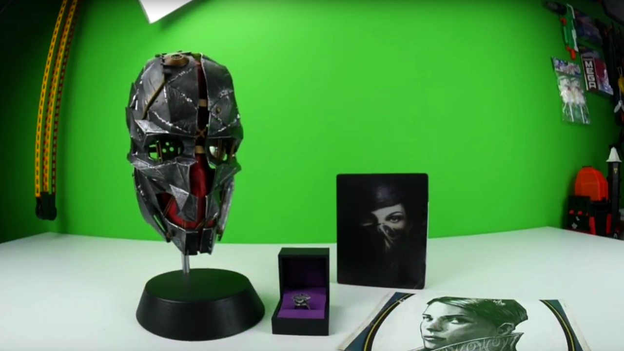 Dishonored 2 Collector's Edition Unboxing