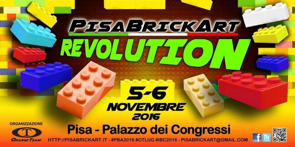 Sabato e domenica PisaBrickArt a Pisa