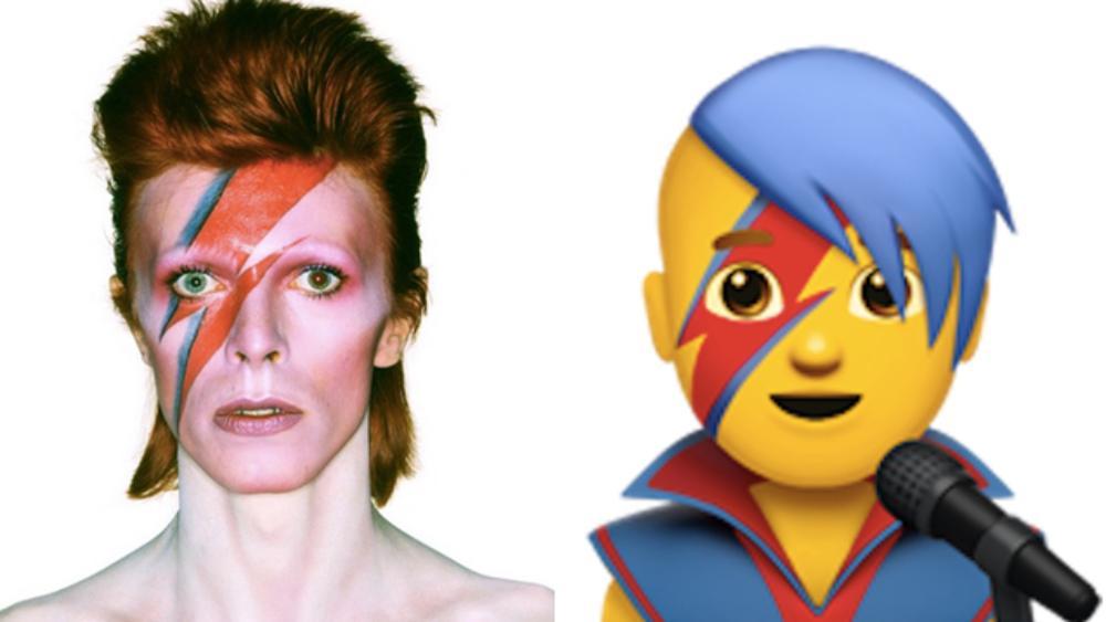 David Bowie diventerà un'emoji su iOS 10.2