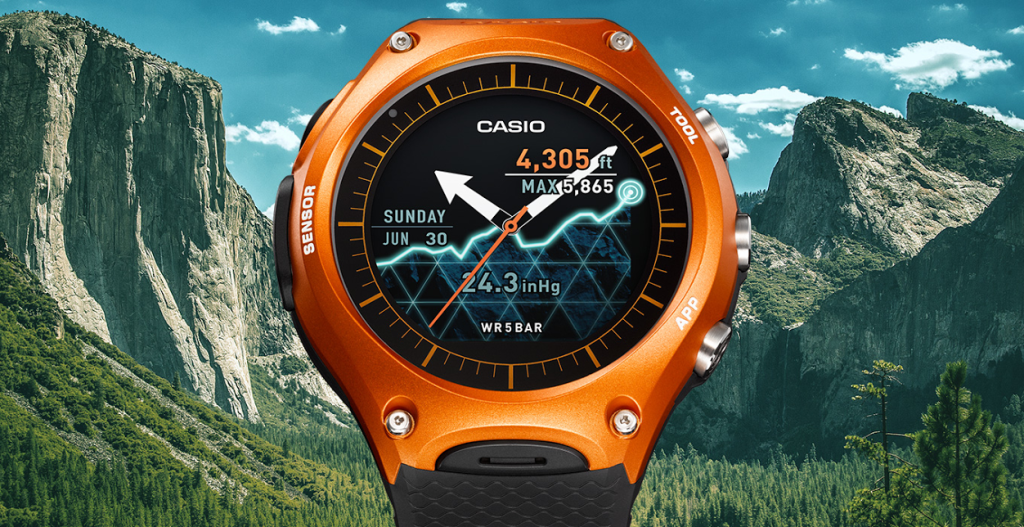 Casio Smart Outdoor Watch disponibile in Italia