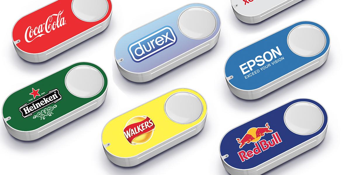 Amazon Dash Botton, il bottone smart per acquisti online