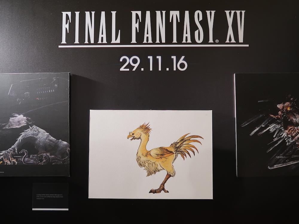 Un percorso emozionale per Final Fantasy XV a Lucca