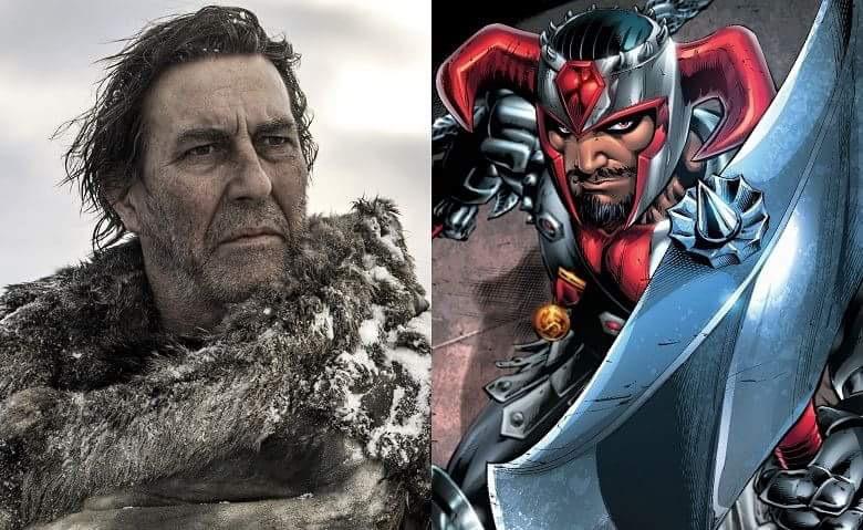 Justice League, Ciaran Hinds interpreterà il supercattivo Steppenwolf