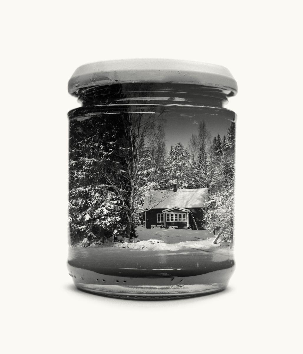 Jarred & Displaced, la Finlandia racchiusa in barattoli di vetro