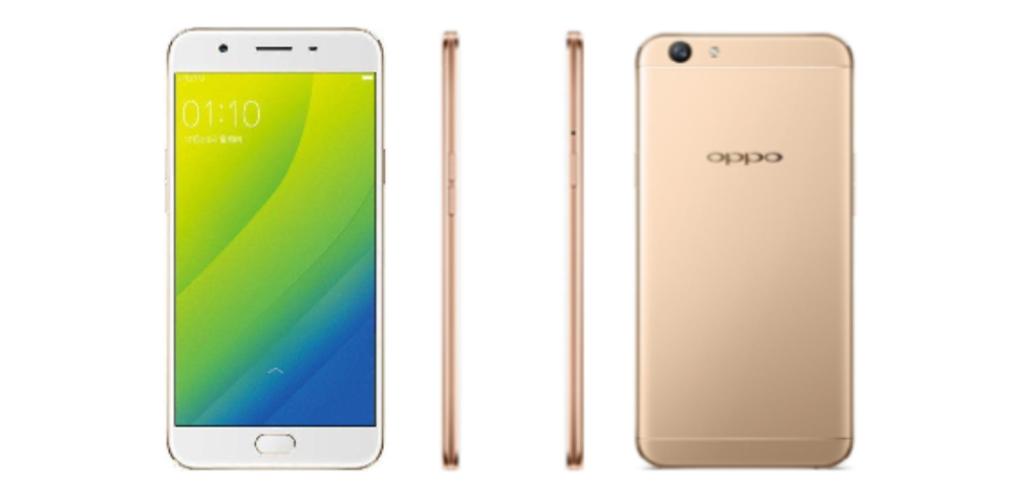 Oppo A57, nuovo smartphone cinese con display curvo