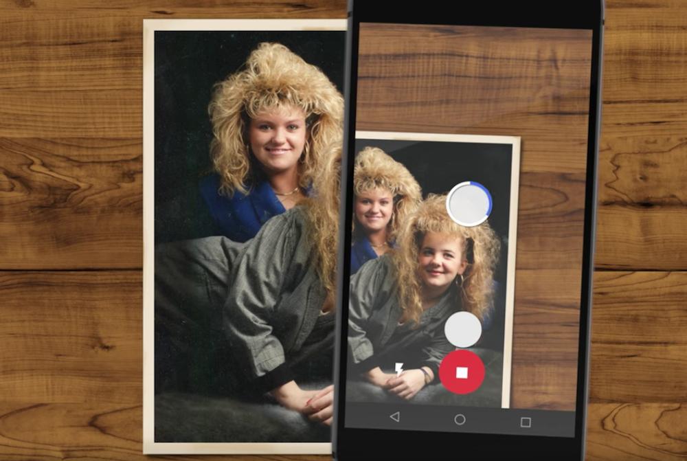 Google FotoScan, vecchie foto a portata di app