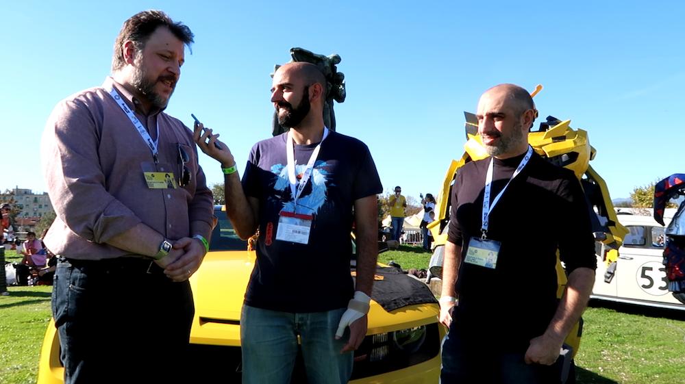 Transformers, intervista al disegnatore Guidi e al concept artist Santalucia