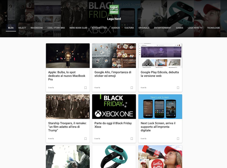 Google Play Edicola, debutta la versione web