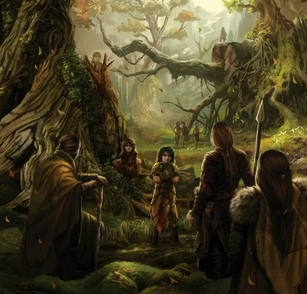 the_children_of_the_forest_and_the_first_men_forming_the_pact_by_magali_villeneuve