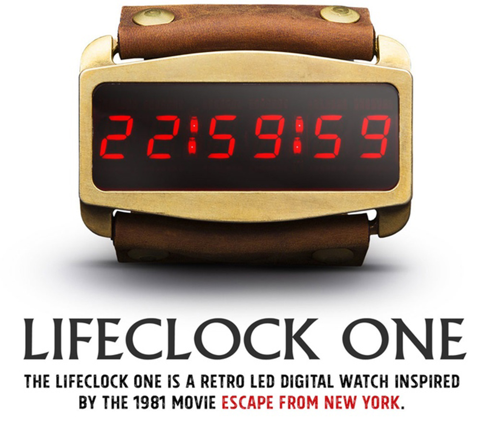 Kickstarter, lo smartwatch ispirato a Fuga da New York