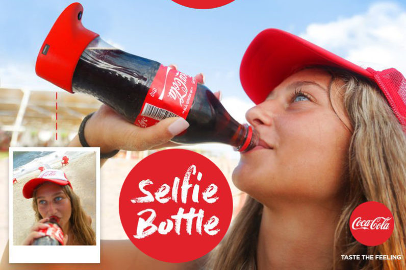 Coca-Cola, arriva la Selfie Bottle