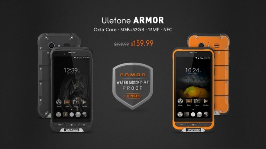 Ulefone Armor, lo smartphone rugged per i survivalisti