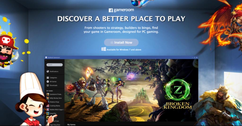 Facebook Gameroom, arriva la nuova piattaforma gaming