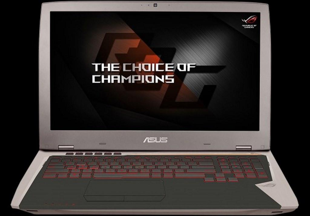ASUS, un aggiornamento hardware per il notebook ROG G701