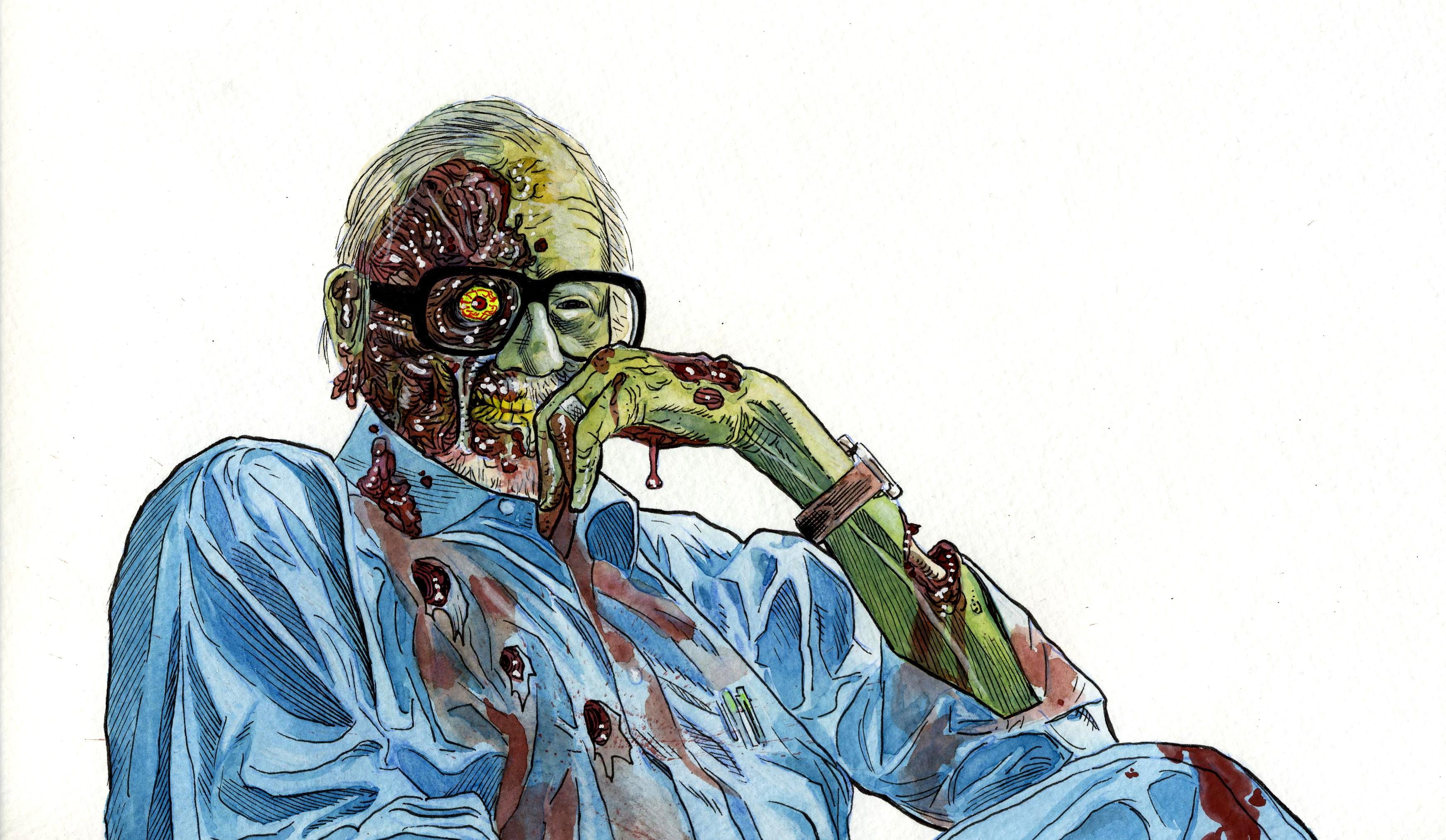 """George Romero: """"The Walking Dead ha rovinato gli zombie"""""""