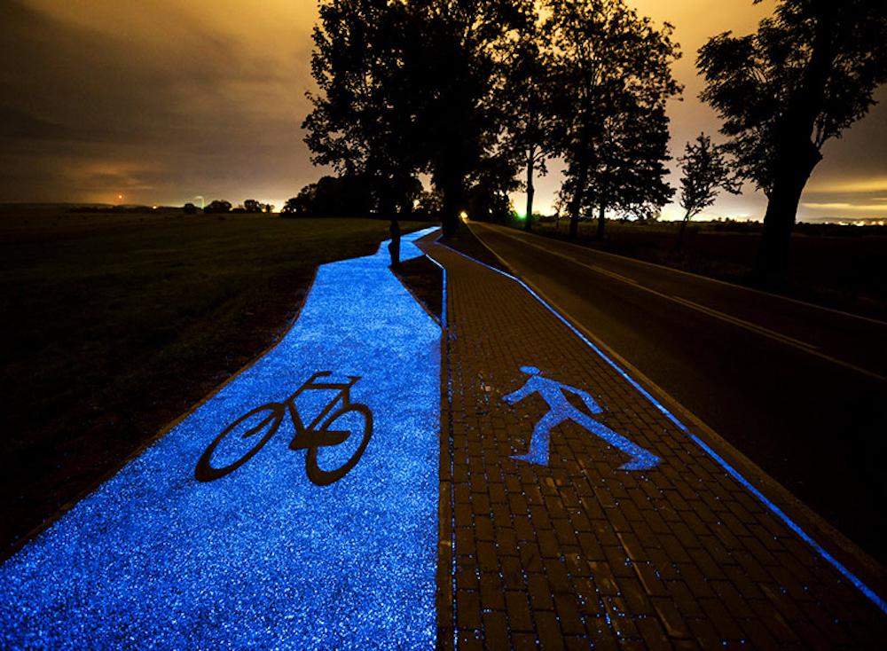 La nuova magica pista ciclabile della Polonia