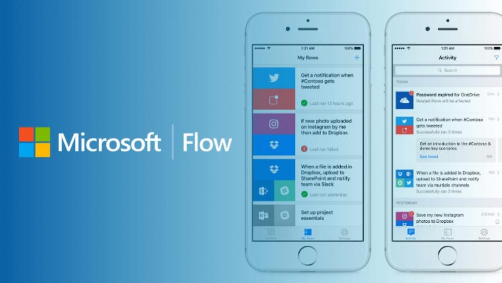 Microsoft Flow si aggiorna con nuovi servizi #LegaNerd