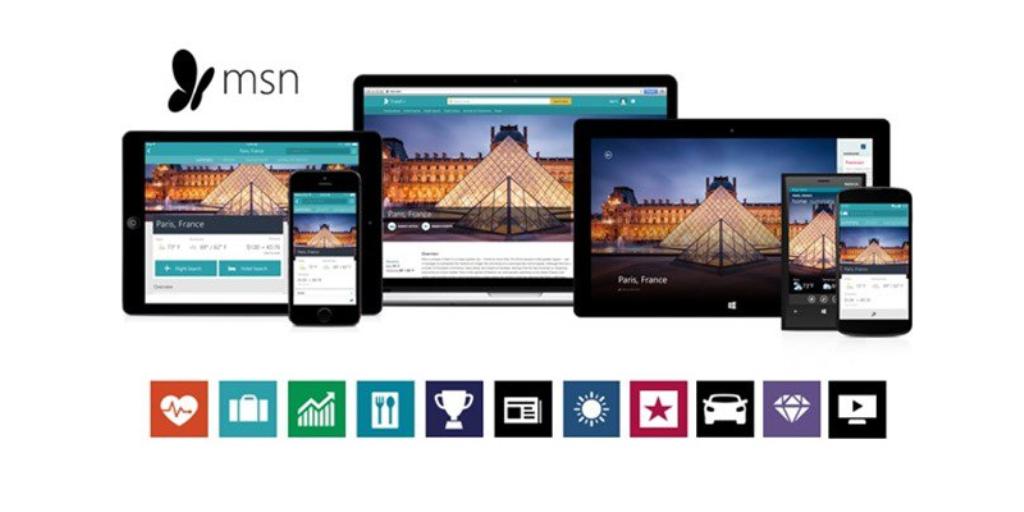 Microsoft aggiorna MSN, Notizie e Meteo
