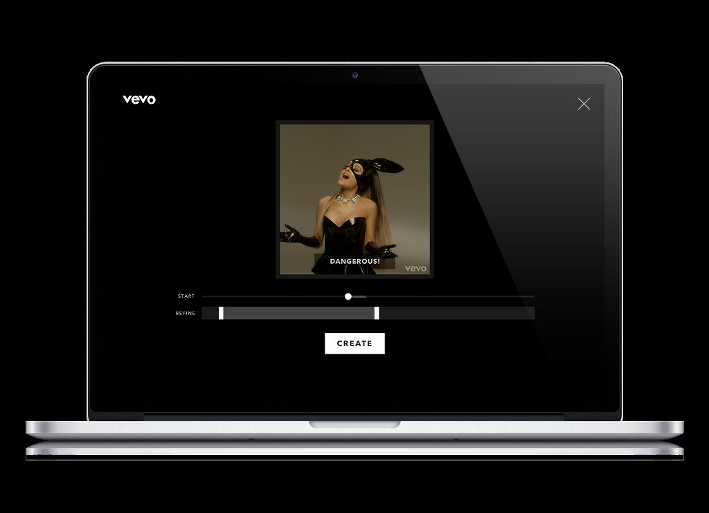 Vevo: le GIF dai video musicali