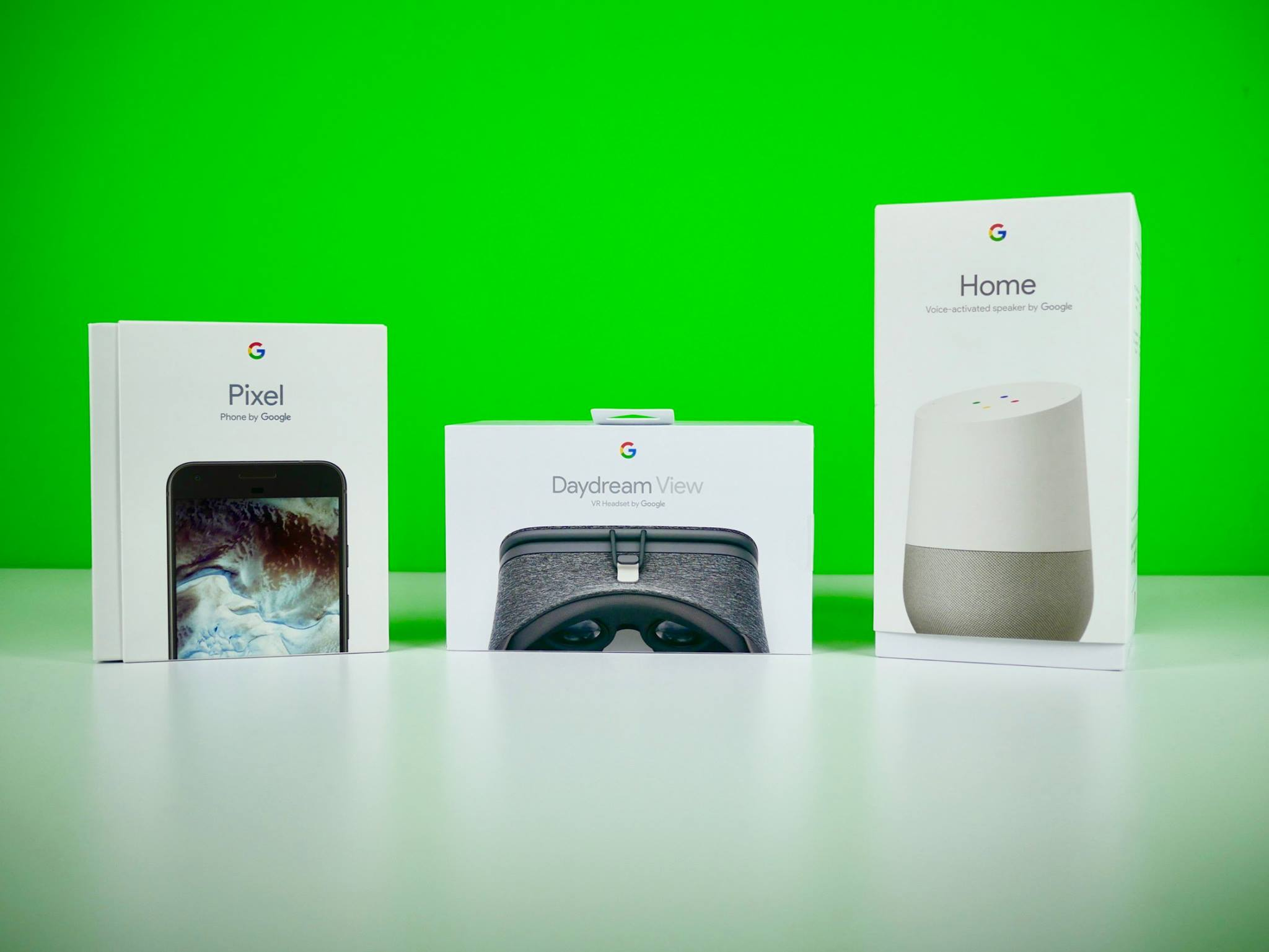 Google Home e DayDream View Unboxing Italiano