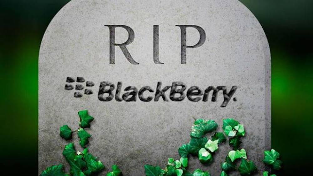 E anche Blackberry è ufficialmente andata