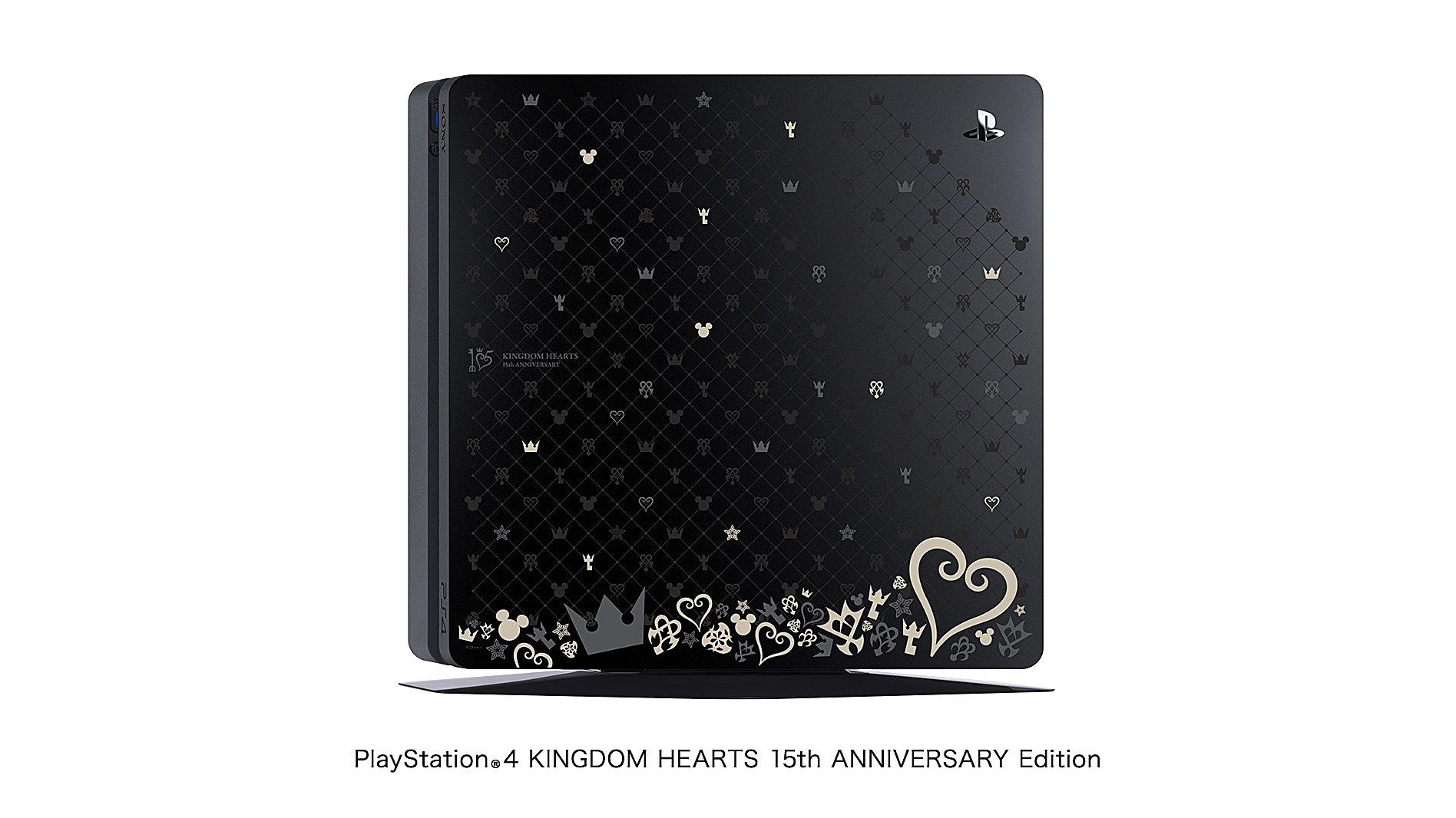 PlayStation 4 Slim, la versione dedicata a Kingdom Hearts