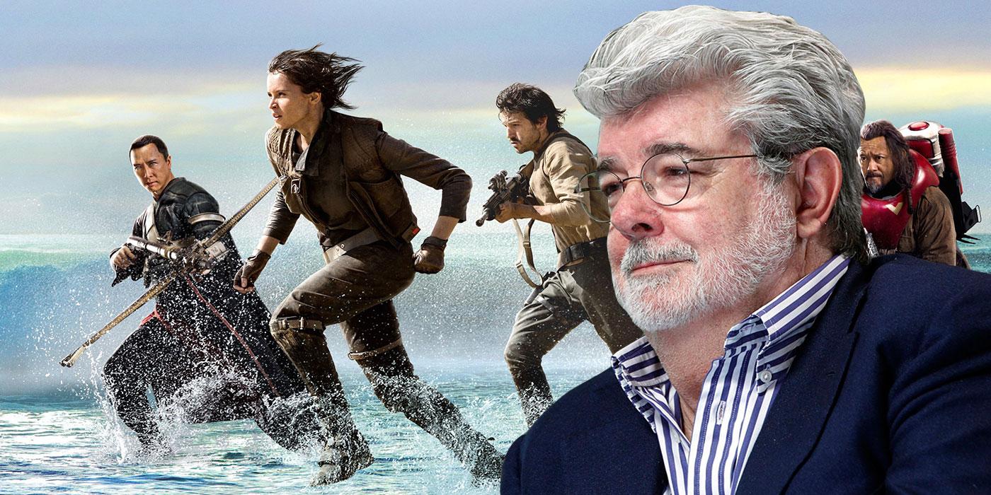 Rogue One, Lucas dà la sua approvazione alla pellicola