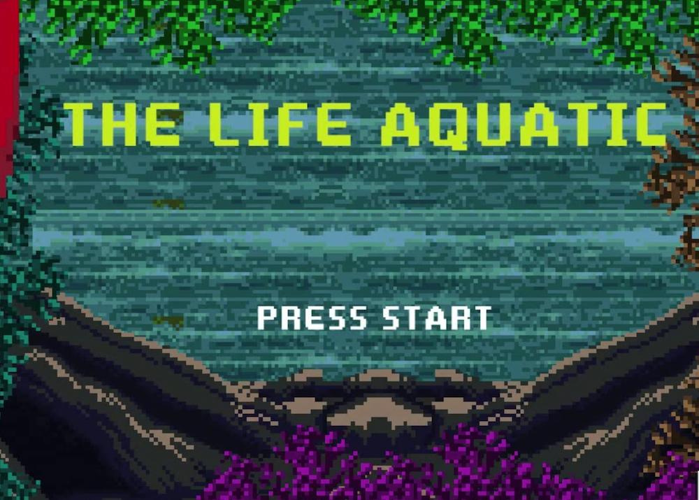 Le Avventure Acquatiche Di Steve Zissou in versione 8 bit