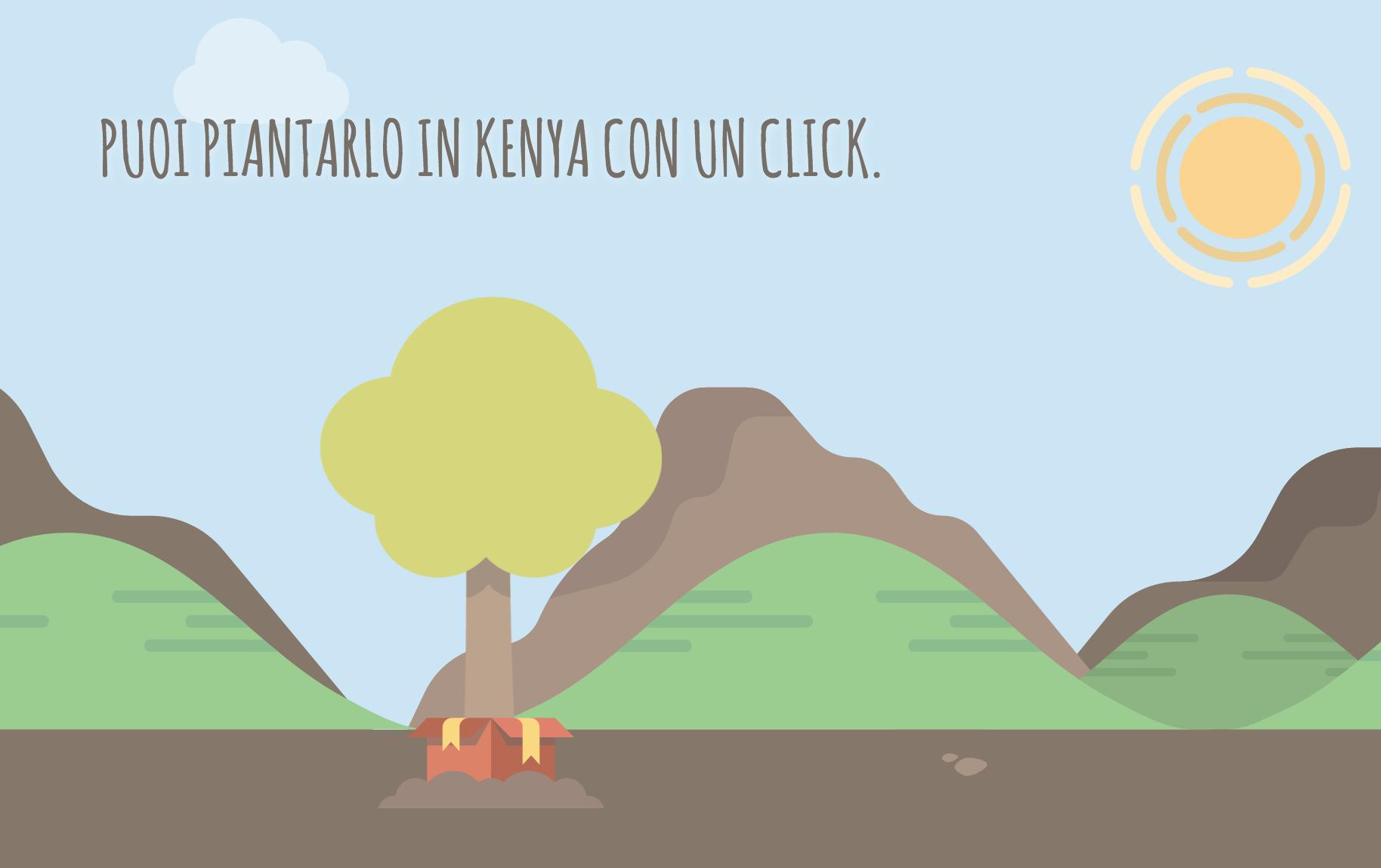 Treedom ti permette di regalare un albero in Kenya