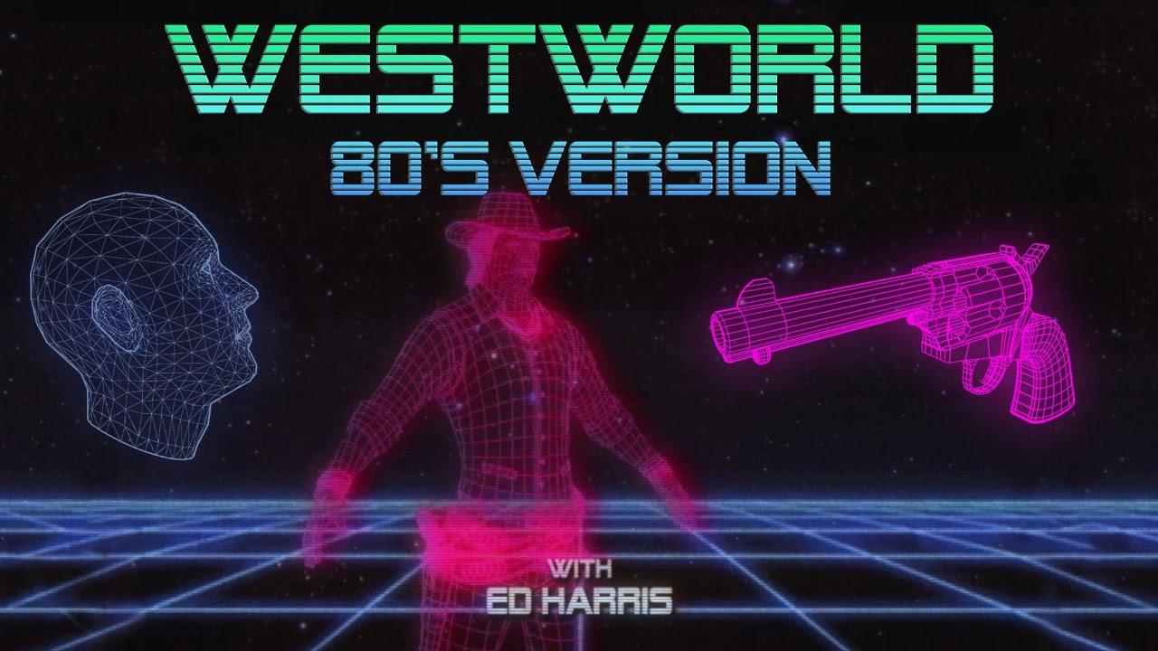 Westworld immaginato come un telefilm anni '80
